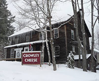 Crowley Cheese in Winter